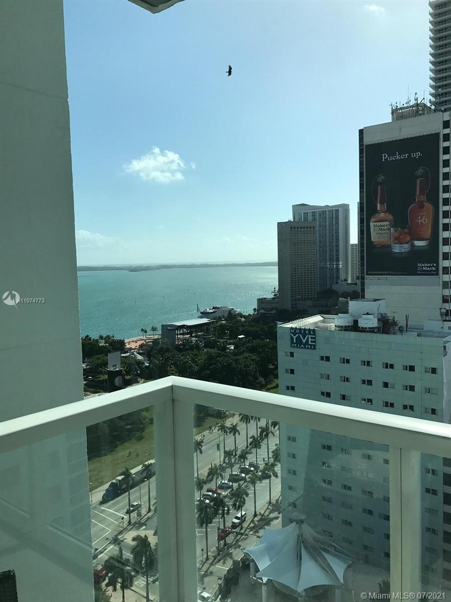Spectacular views from your very own balcony! Very centrally located in the heart of downtown Miami