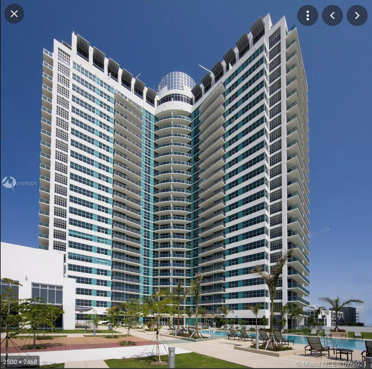 Astonishing 2/2 at Four Midtown.  Building with updated spectacular amenities.  Area close to the be