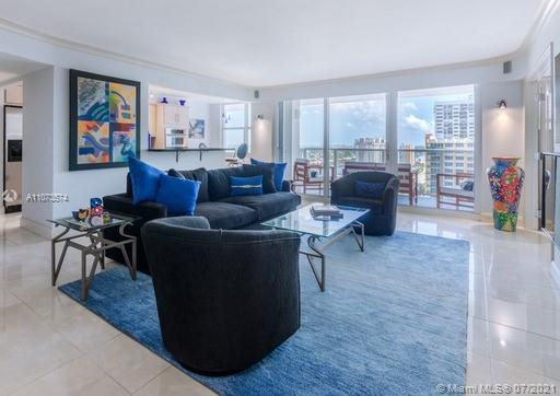 Welcome to this stunning and spacious two-bedroom, two -bathroom residence located on Hollywood Bea