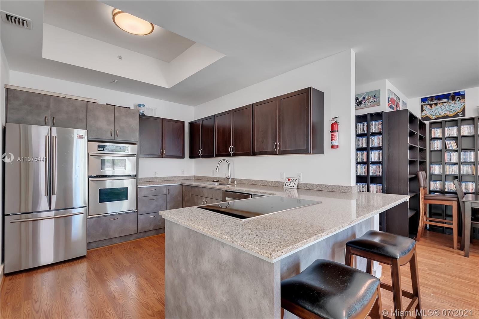 Spectacular and hard to find very spacious   3 bedrooms 2 and a half bathroom corner unit in a beaut