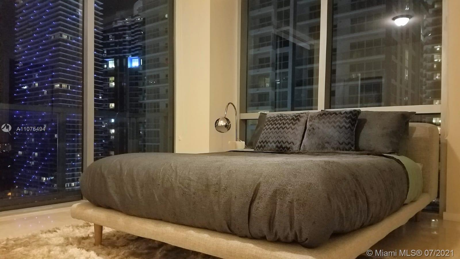 Amazing Corner unit 2 bedrooms and 2 bathrooms in the heart of Brickell. One assigned parking space.