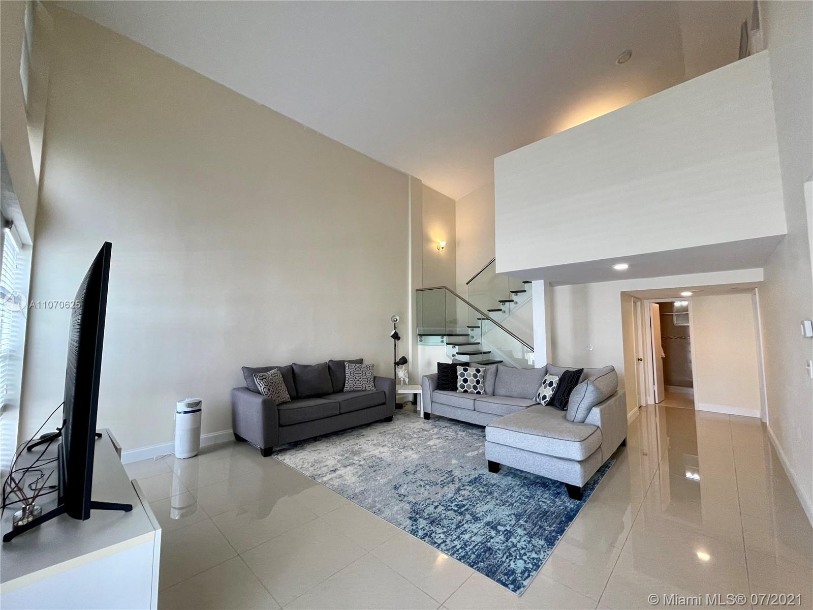 Immaculate, completely upgraded, modern townhome in the heart of Aventura, w/ breathtaking views of