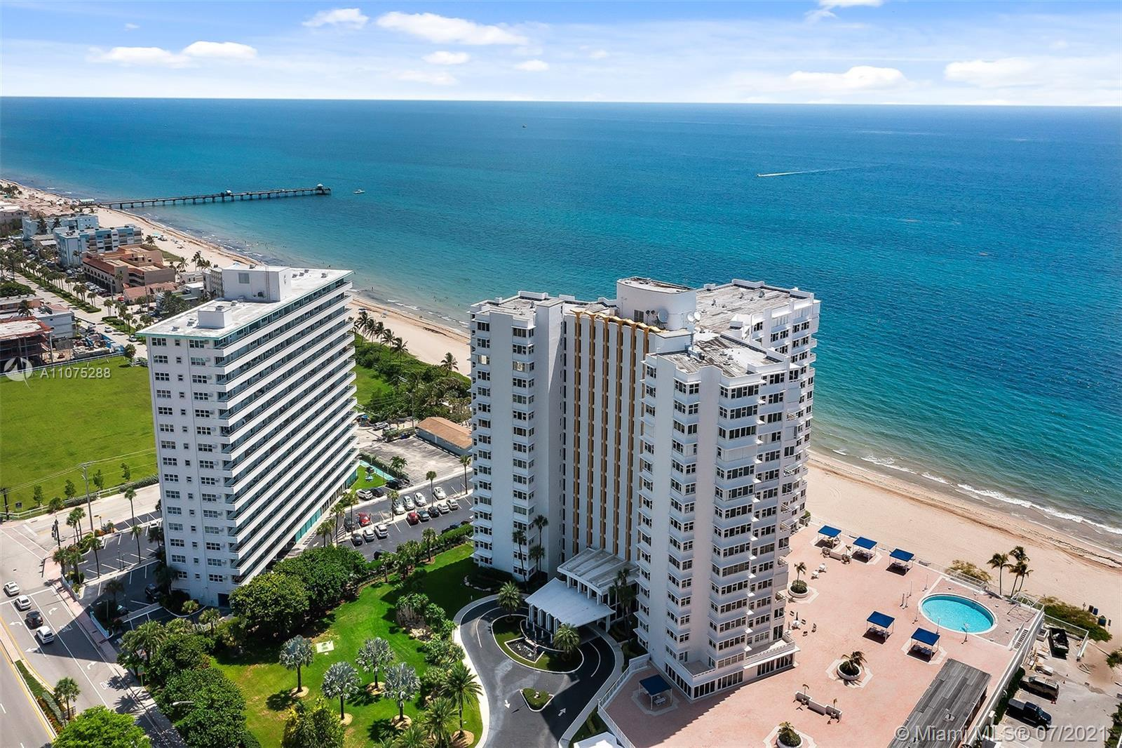 Direct ocean views with rarely available 1800+ square feet of living space. The Fountainhead, locate
