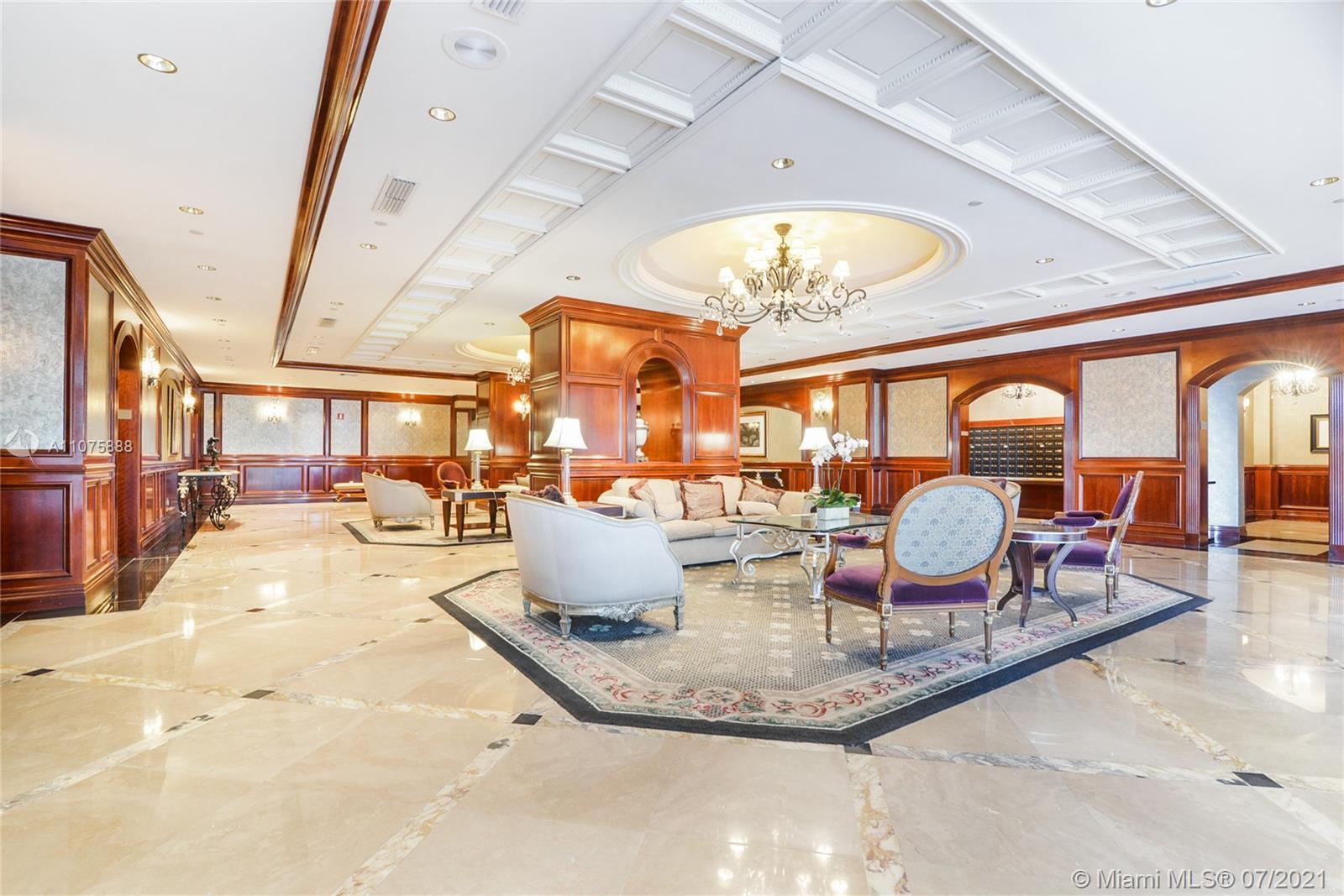 PERFECT FOR INVESTOR-TENANT IN PLACE TILL JUNE 28, 2022. Beautiful 1 bedroom+ den, Luxury Oceanfront