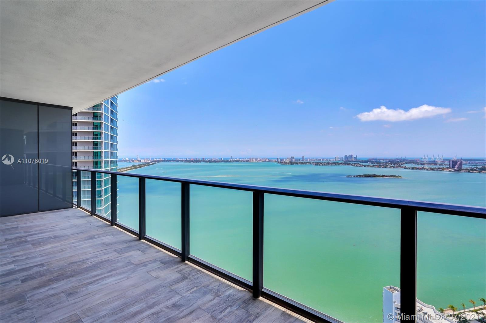 DIRECT BAY VIEWS from this 2BED/3BATH+DEN at the amazing PARAISO BAY offering the best amenities in