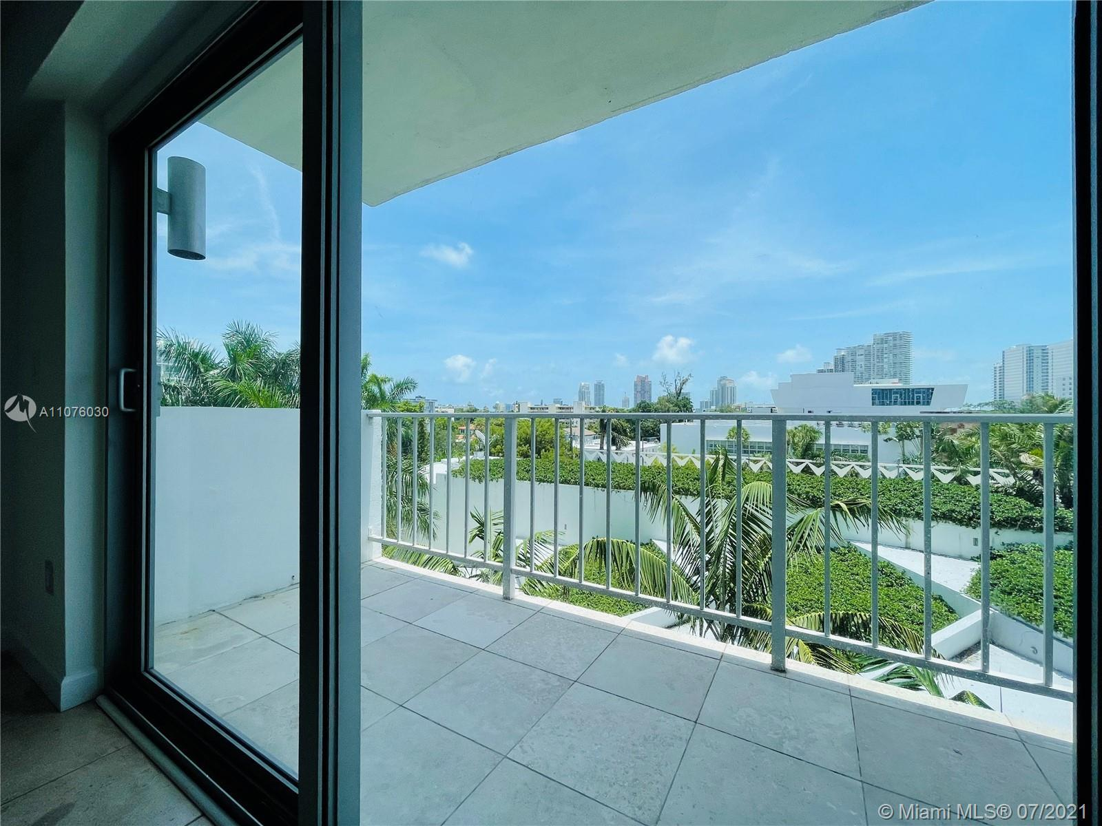 Live in Miami Beach! 730 square feet of living area. This is the only unit for sale in the building.