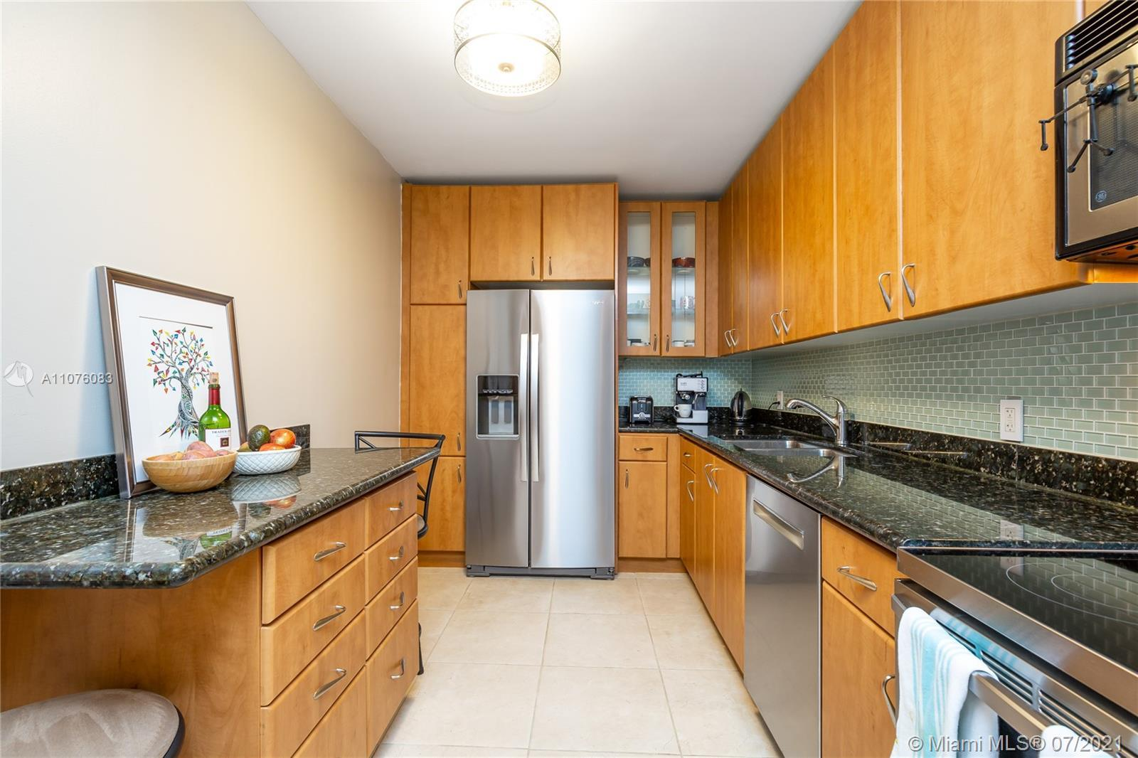 Totally Updated one Bedroom condo with great water views of the Ocean and Bay. Walking distance to t