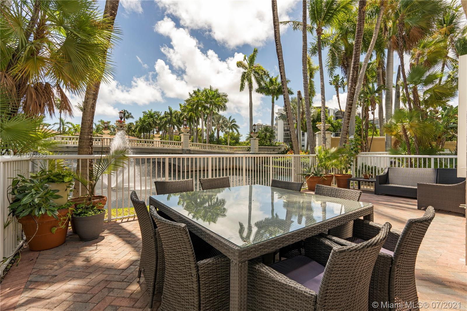 Spacious and bright, natural light floods this 4BD 3.5BA home located in the desirable Aventura Lake