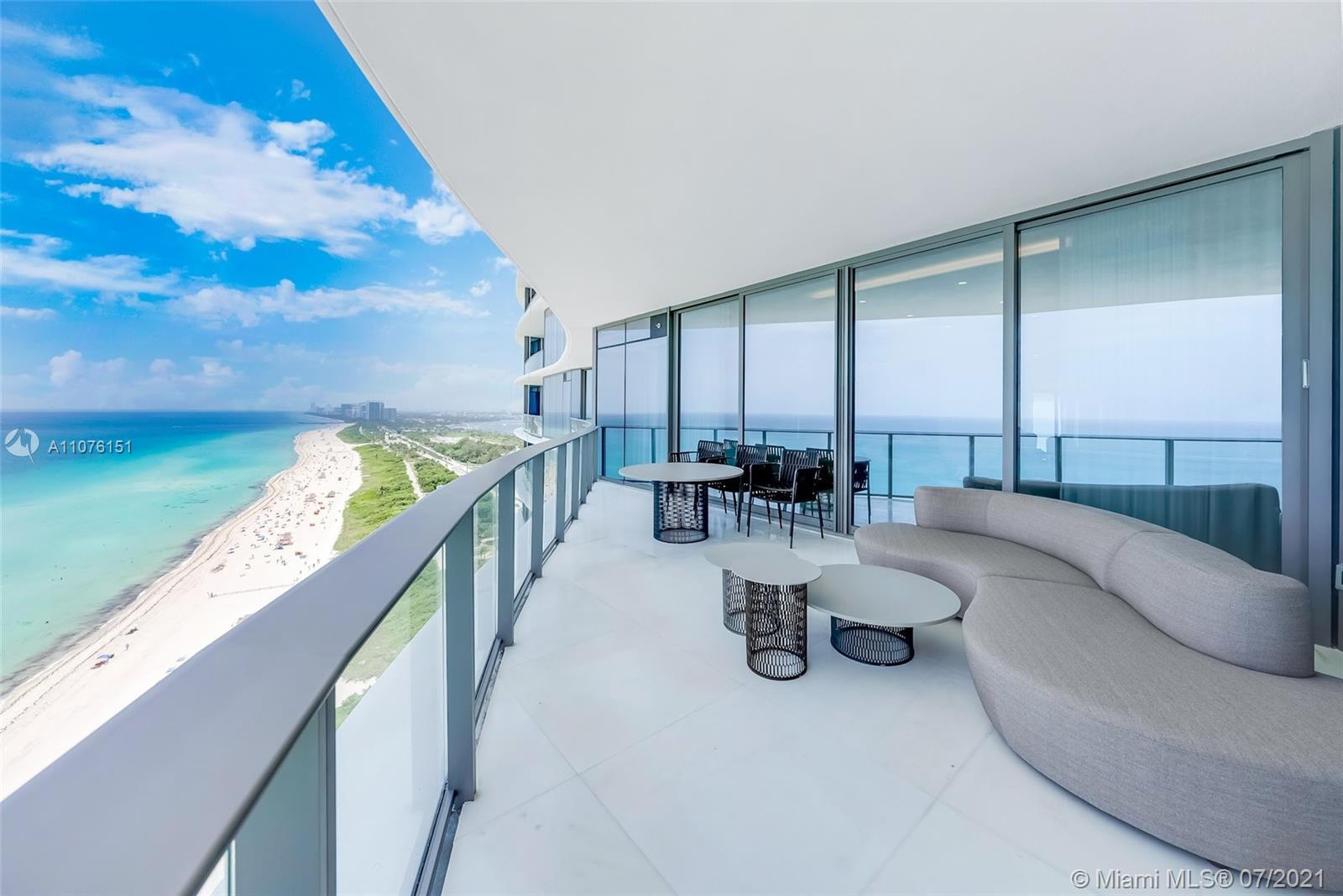 Turn-key unit at The Ritz Carlton Sunny Isles Beach! 3BD + 3.5BA + family room, 2,475 sf. flow-thru