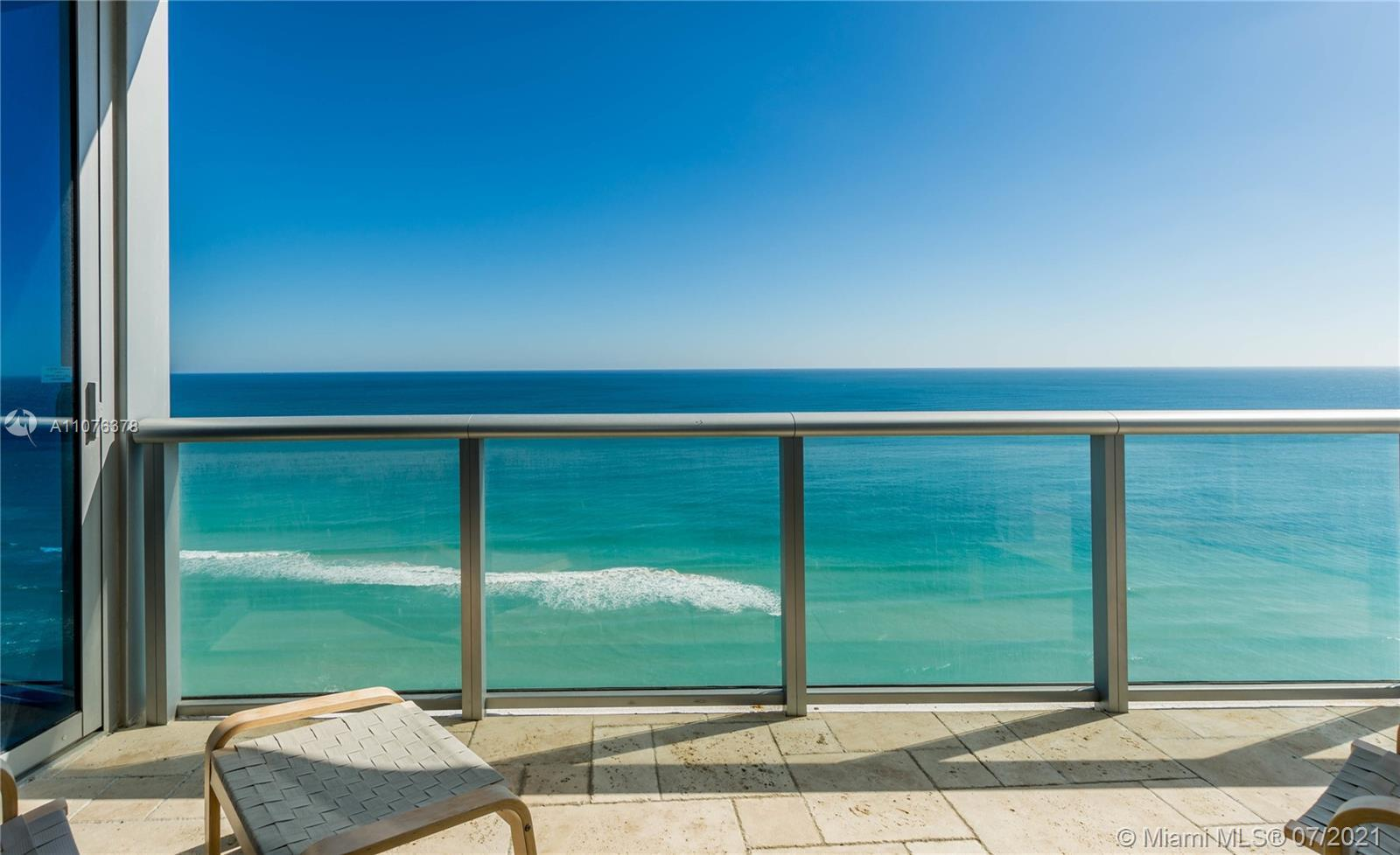Direct Ocean, Bay & Skyline views from every corner of this spectacular apartment, private elevator,