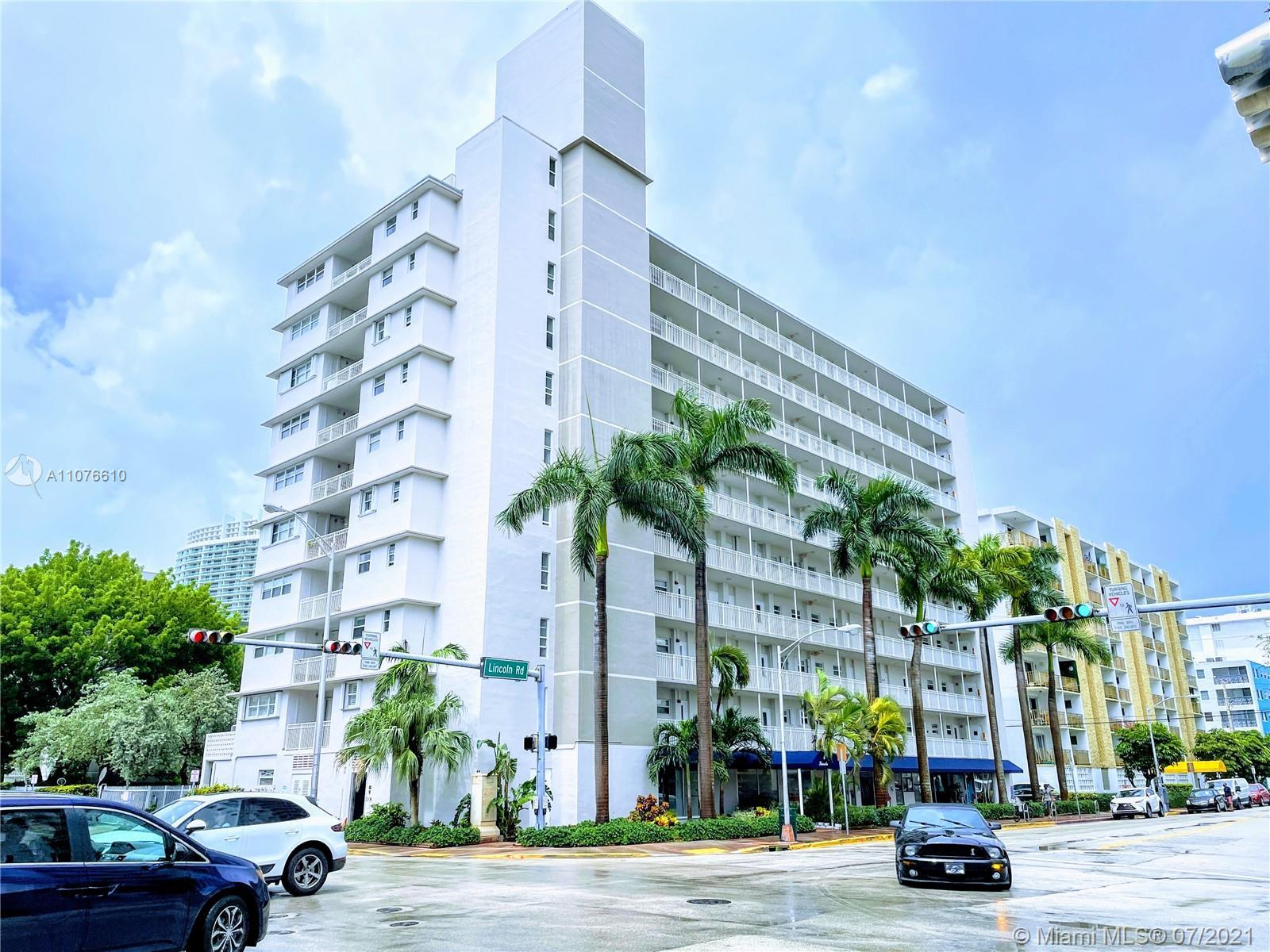 STRUCTURALLY SAFE SOBE CONDO ON LINCOLN ROAD!!! Exclusive Second Floor unit with Private Pool & Par