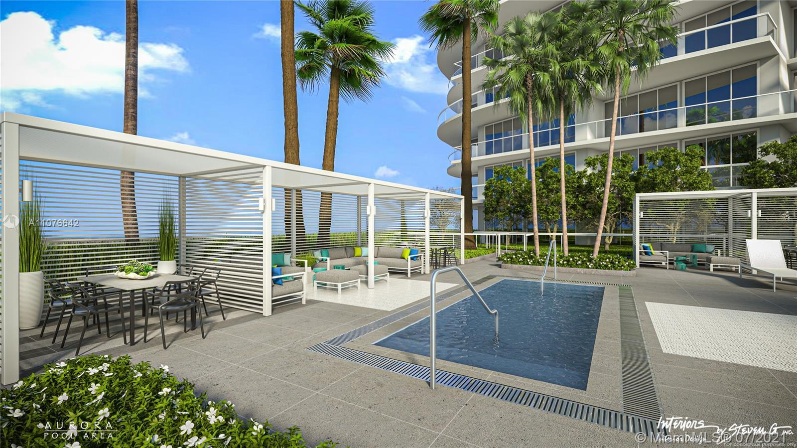 NEW CONSTRUCTION! Move in by Q1 2022. This residence offers a 372 sq.ft. private terrace, 10' ceili