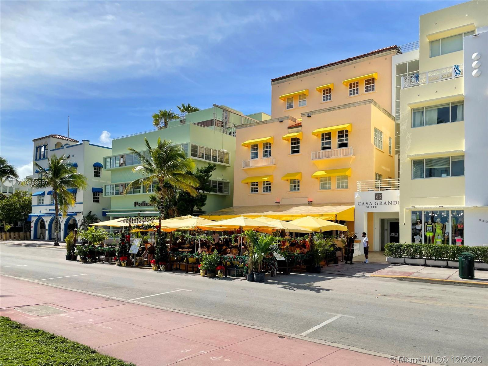 Situated on world-famous Ocean Drive, this condo complex offers a modern and stylish living experien