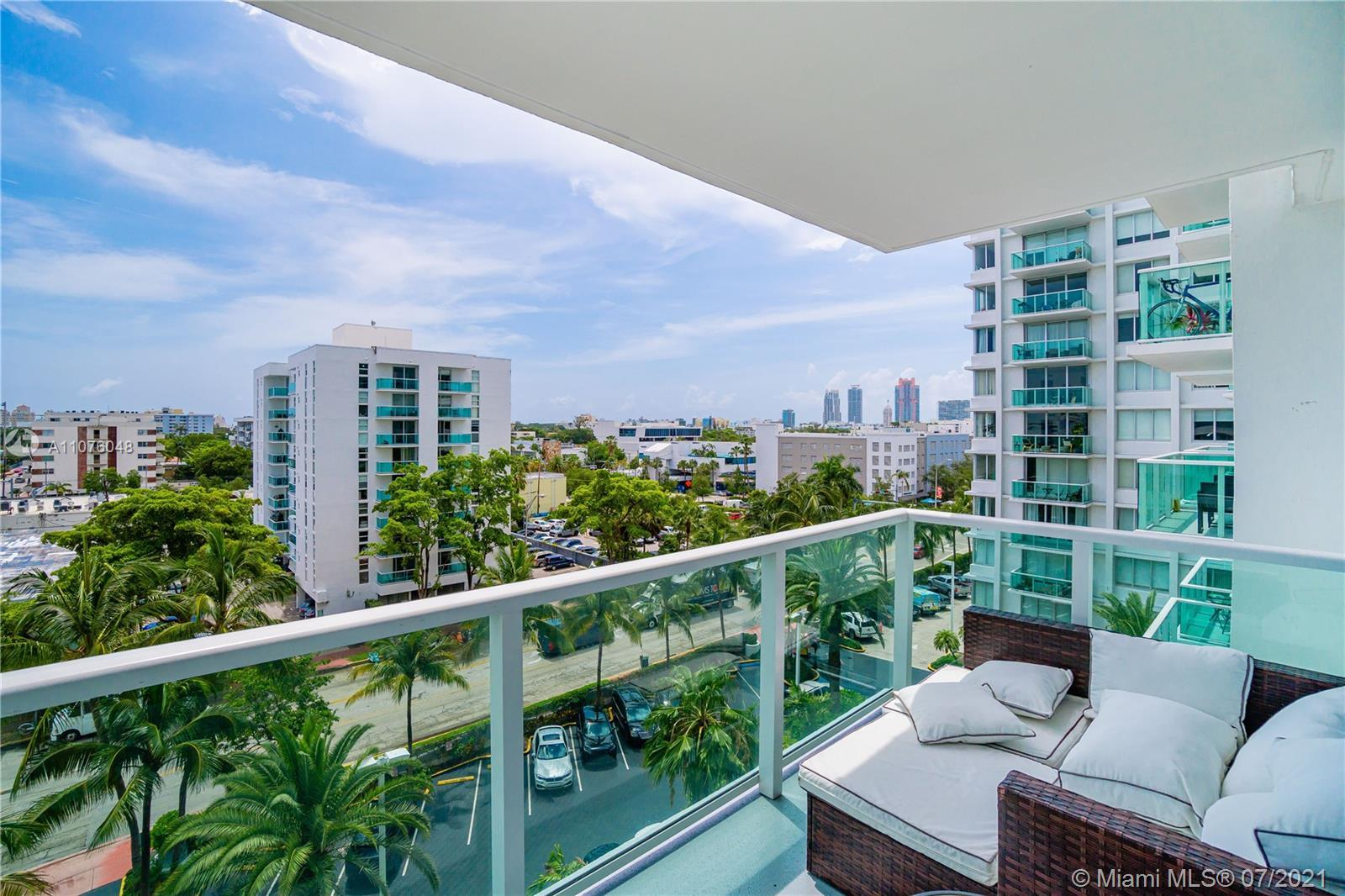 Largest 1 Bd /1.5 Bth & quiet corner unit rarely available at the Mirador 1000 Building. $36k in ASS