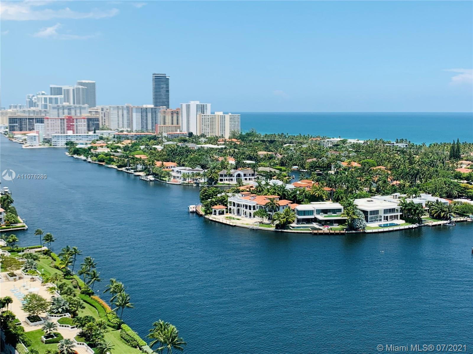 Unique opportunity to own a PH with incredible intracoastal, city, and ocean views, and year-round b