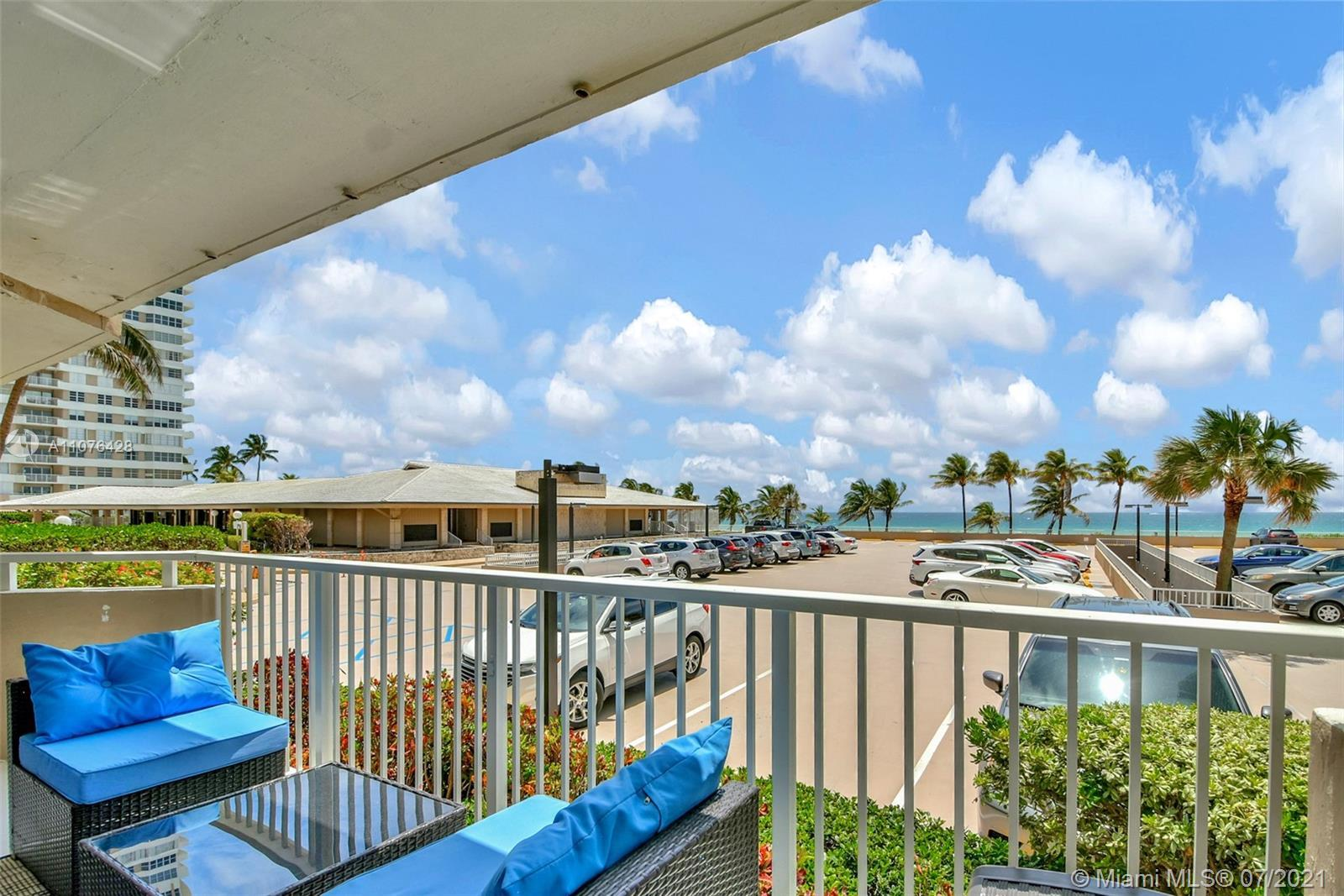 Remodeled Three bedroom, two and one half bath corner Ocean Front unit at the Hemispheres. This unit