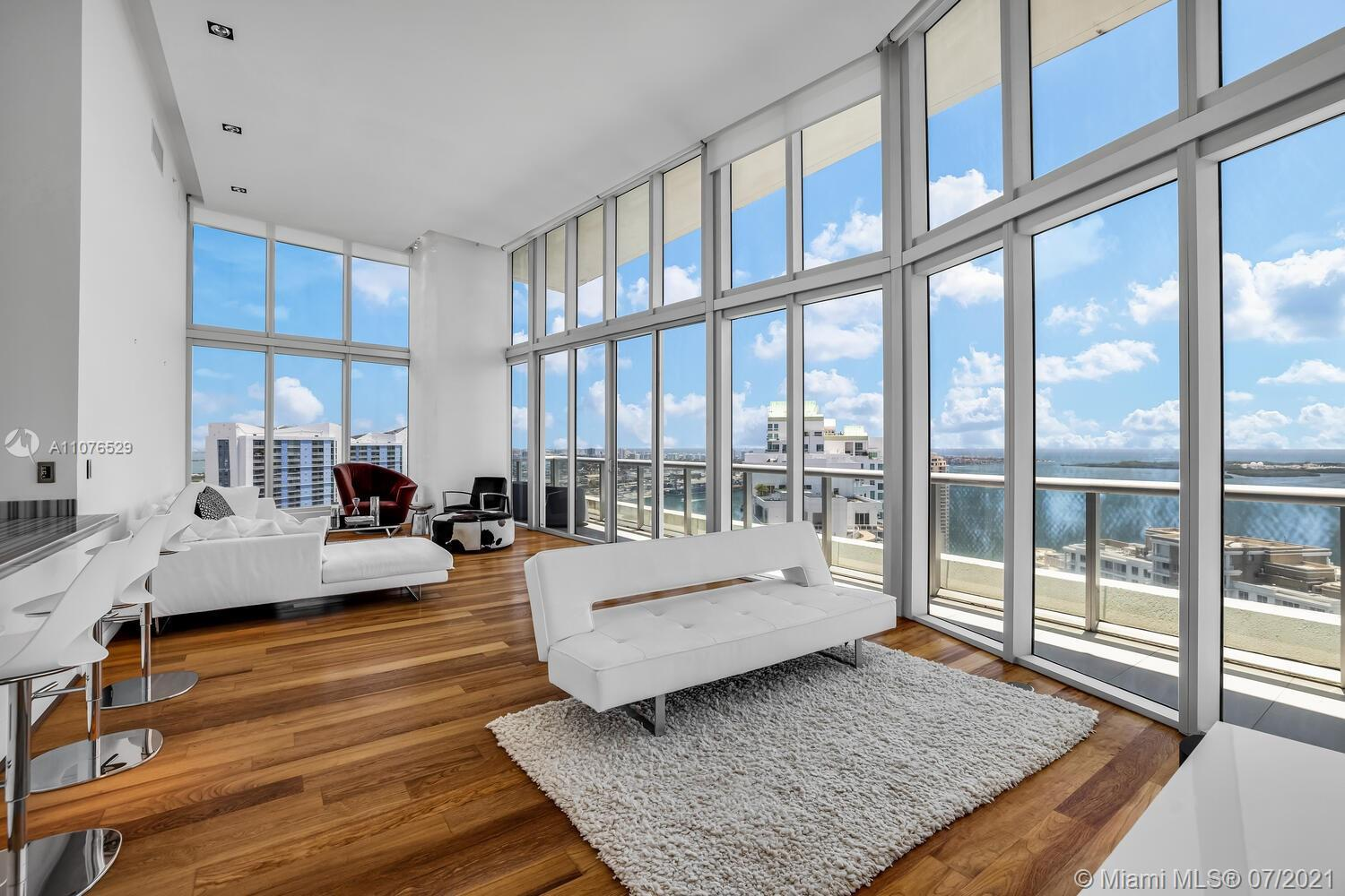 One-of-a-kind, impeccably maintained, 16 Ft. High Ceilings greet you in this light and bright 3-bed,