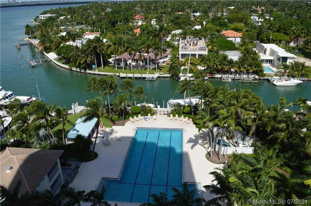 Most sought after neighborhood in SoBe! Fantastic corner unit w/ unobstructed bay, marina, canals &