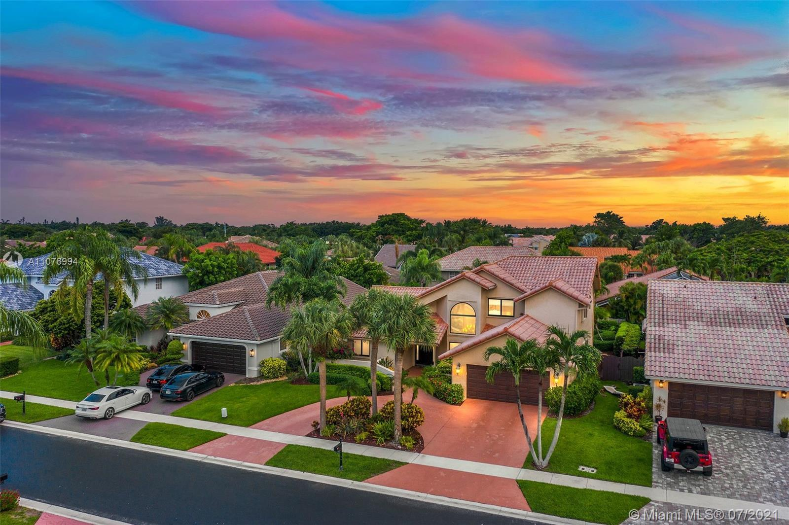 """Magnificent home in one of Boca's best kept secrets, La Joya """"the Jewel"""" Amazing property with about"""