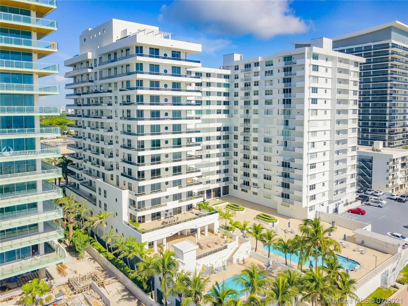 Lovely and Spacious 2 bedroom + Den, 2 bathroom oceanfront condo on Millionaire's Row in Miami Beach
