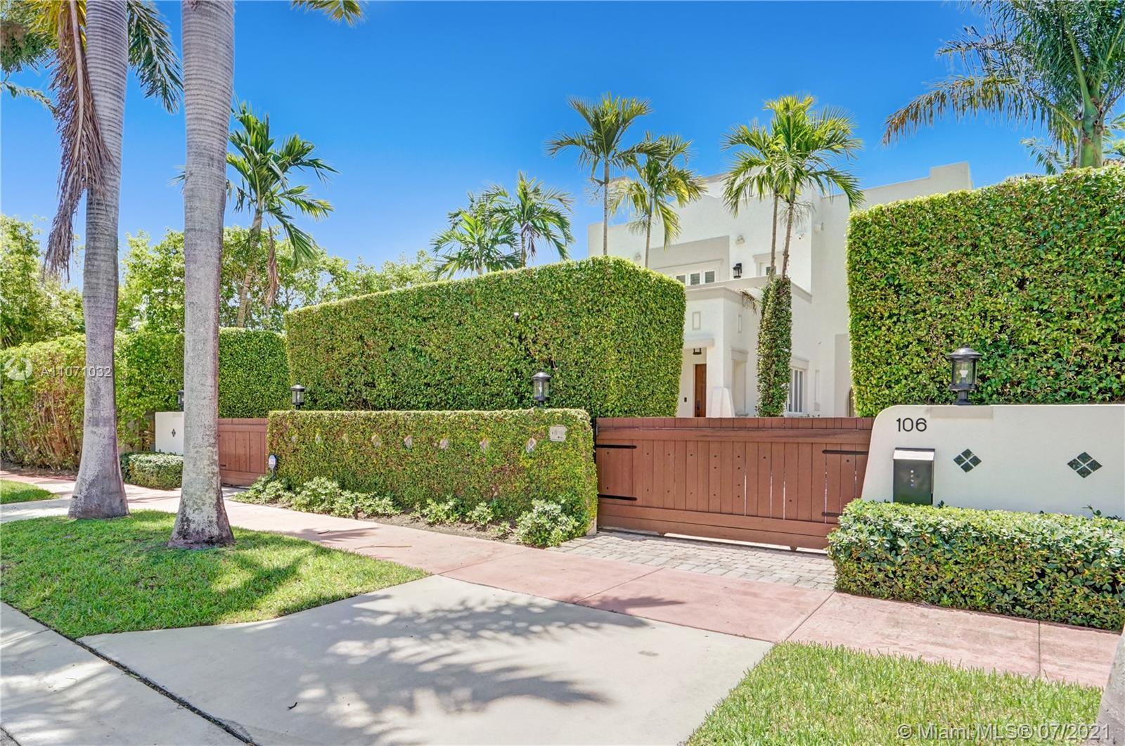 Gorgeous, gated and spacious, 3-story Venetian Isles residence superbly remodeled and featuring 3 be