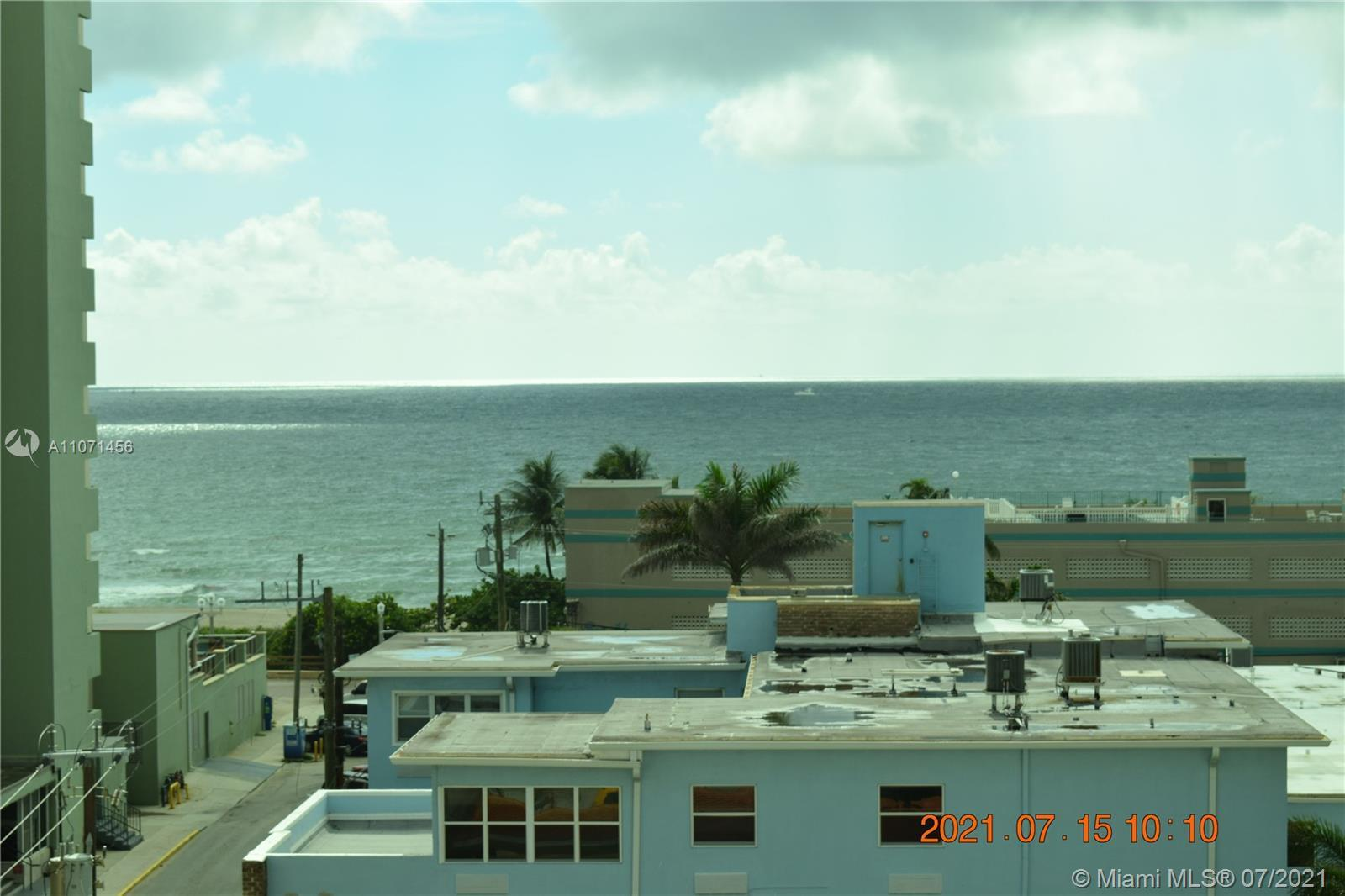 Absolutely the lowest Monthly HOA on Hollywood Beach. $205 mo. Stroll down to Hollywood's Famous boa
