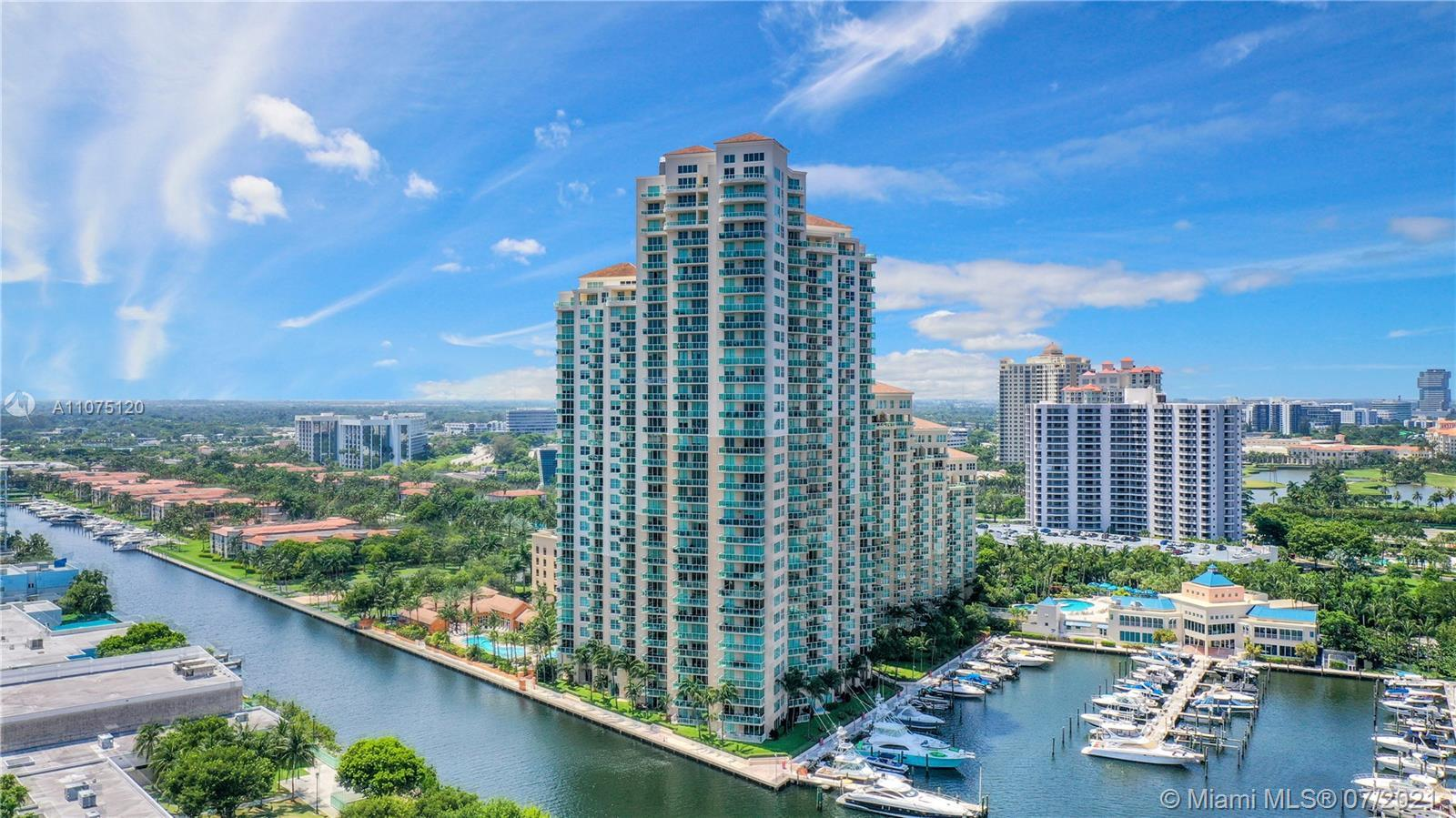 Stunning 2bd, 2ba Aventura Marina One condo located on the first floor with Marina access FROM YOUR