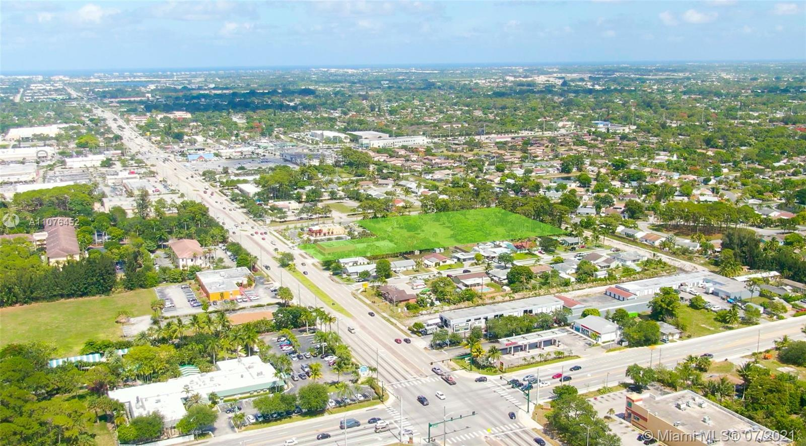 RESF Commercial is pleased to present a (3) Folio Assemblage totaling 3.62 Acres perfect for retail