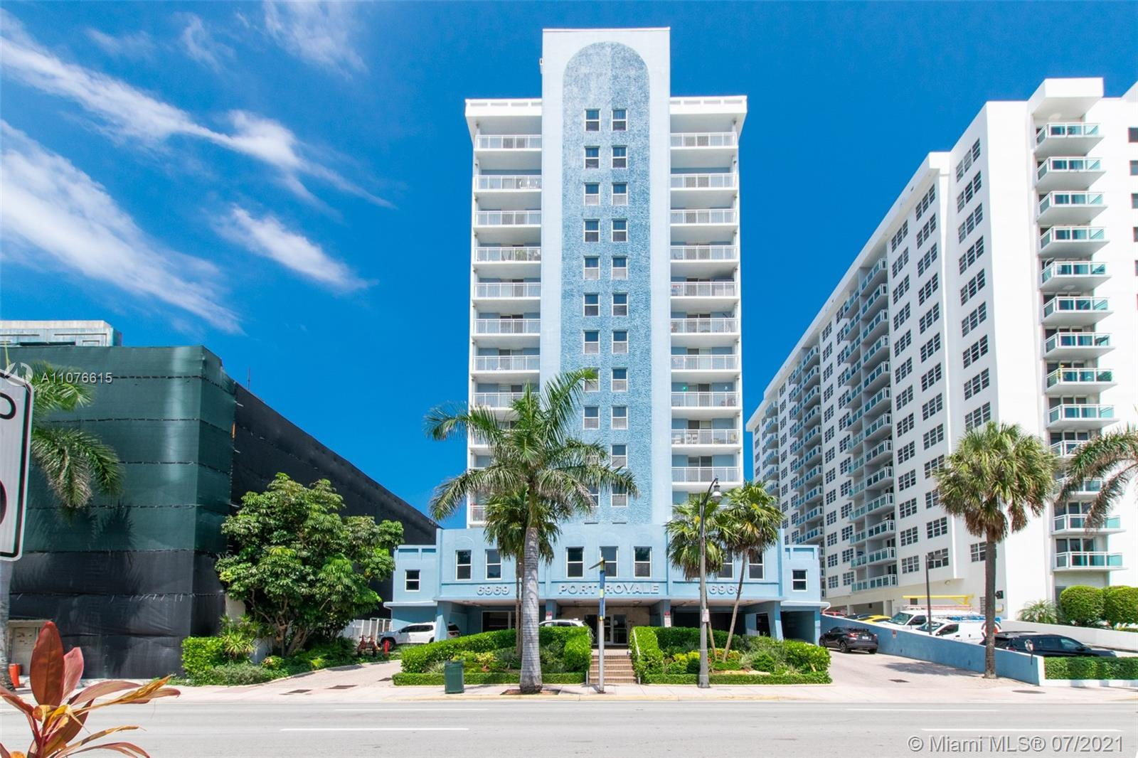 Amazing beach front property with beautiful beach & city/intercostal views. Located on the 14th floo