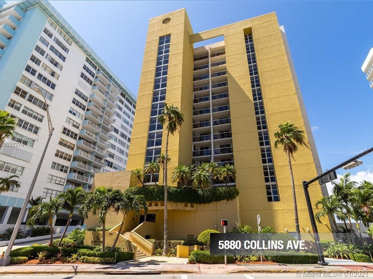 Bright 2 bed/2 Bath unit in boutique building located in the heart of Miami Beach. Amazing views of