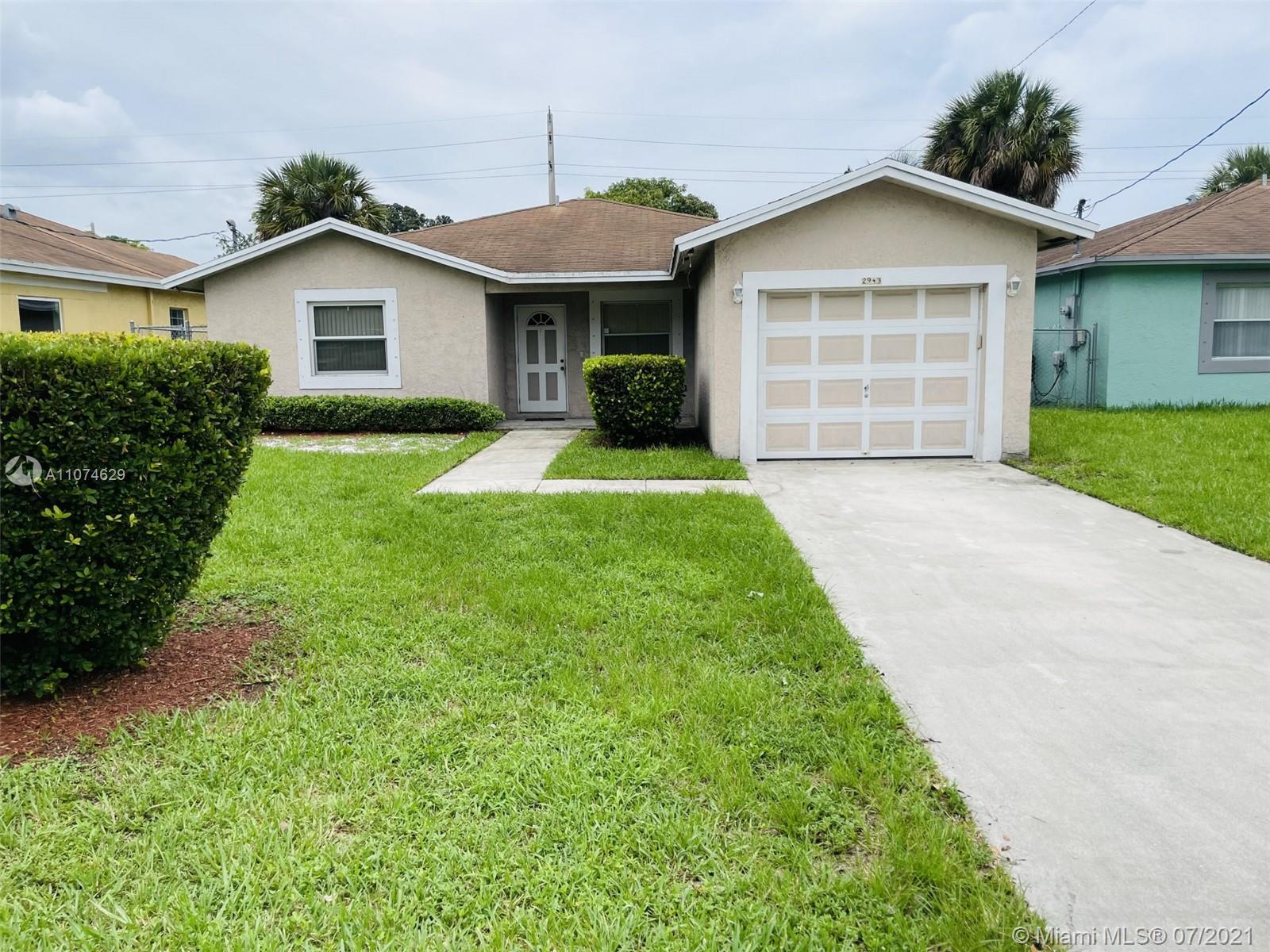 This cozy single-family home, includes 3 bedrooms, 2 full bathrooms and central air conditioning. It