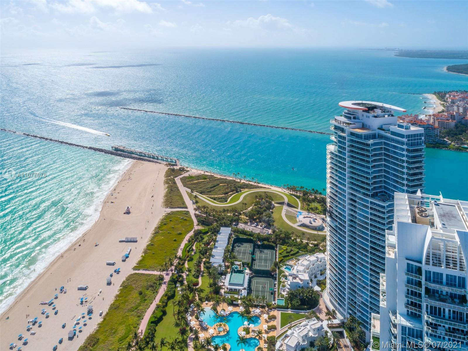 Enjoy sticking southwest exposures from this corner residence with some of the most beautiful Miami