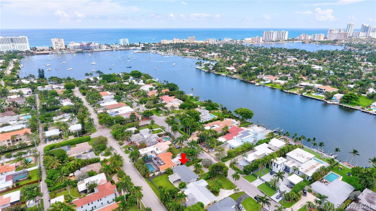 Located on one of the most coveted streets in beautiful Hollywood Lakes, N. Northlake Drive, this pr