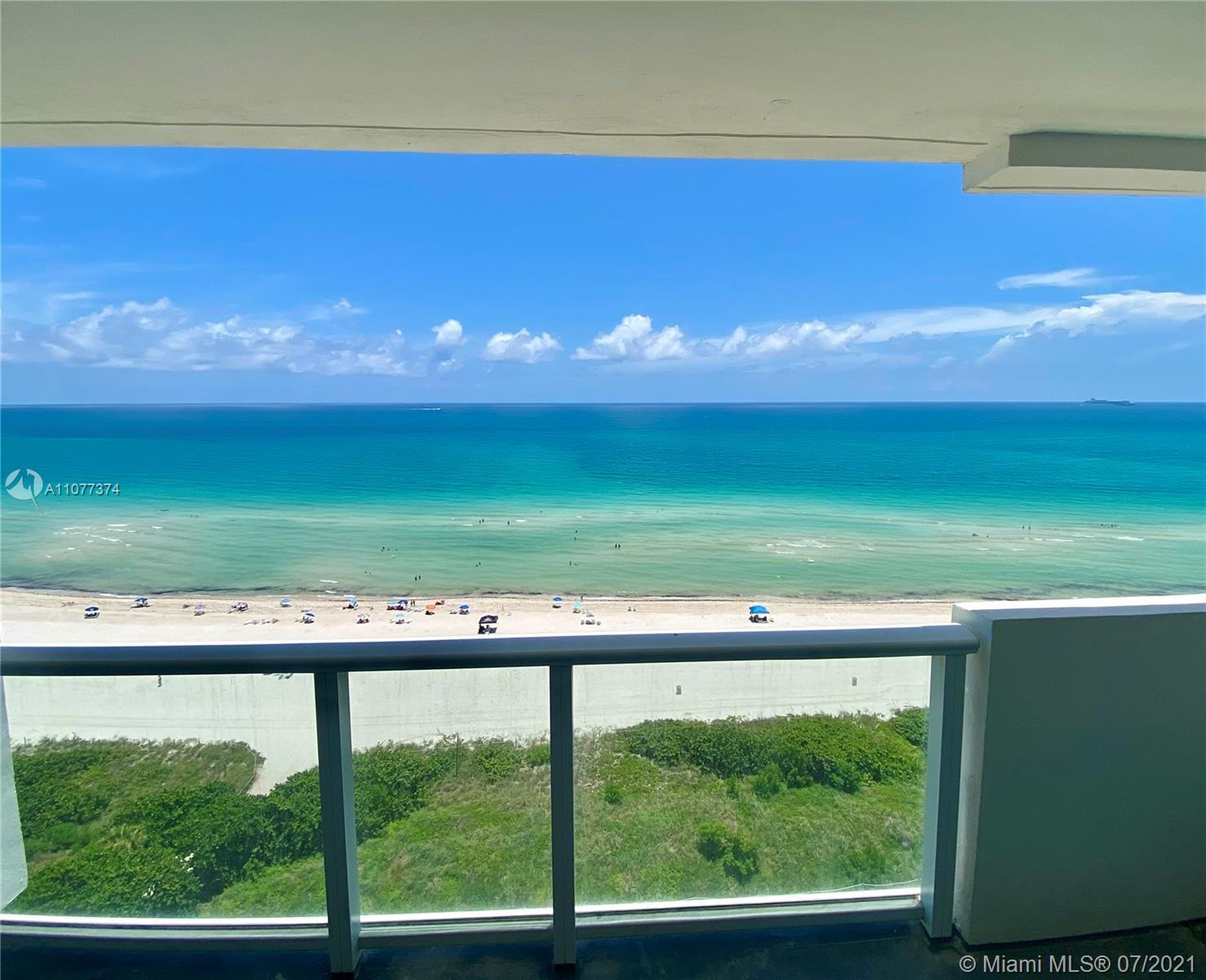 Meet the rising sun every morning from you balcony! DIRECT OCEAN VIEWS from every room! Very well ma