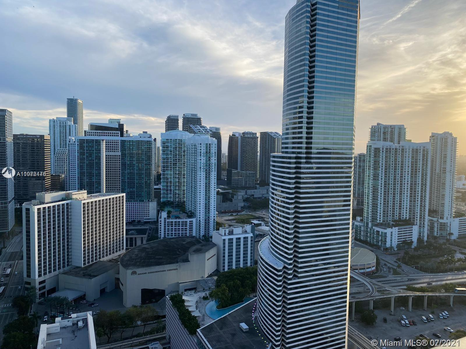 Gorgeous apartment in downtown Miami. Polished concrete floors, Italian cabinetry, stainless steel a