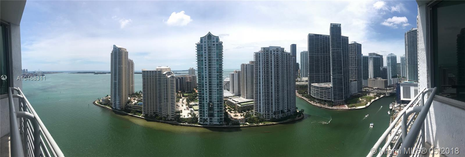 Very nice 2 bed 2 bath unit in One Miami West condo, split floor plan, freshly painted, perfect for