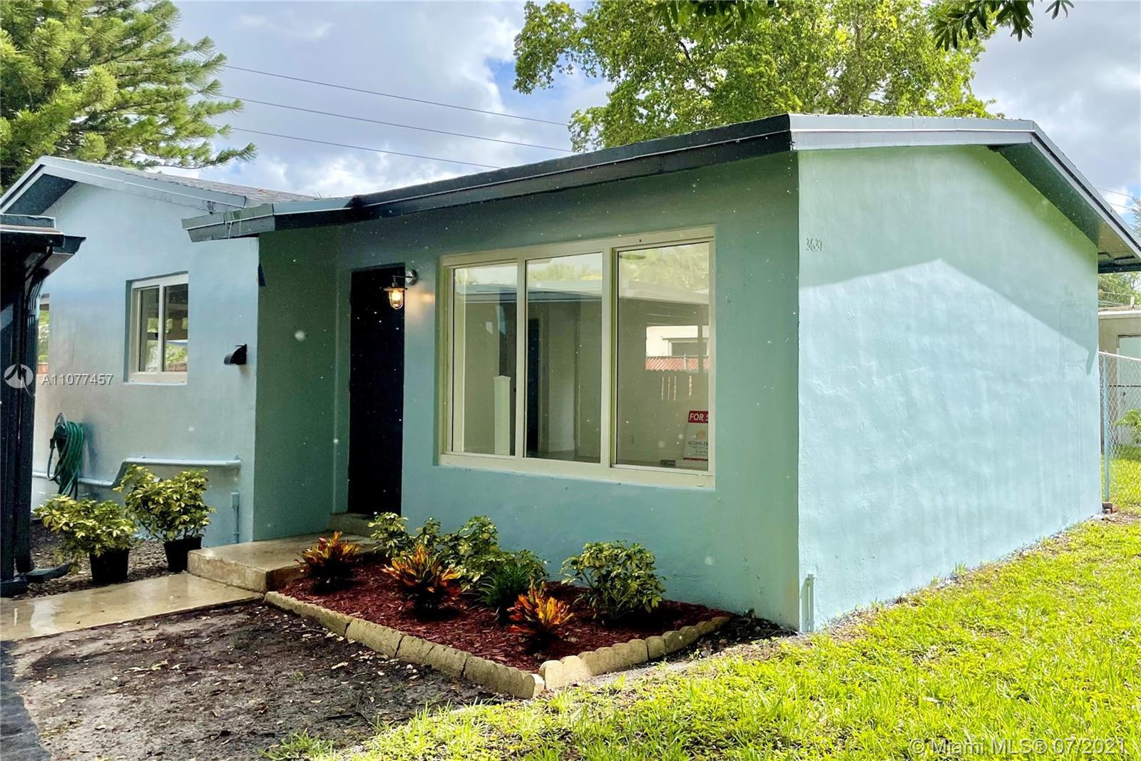 Make this your home. Ample space, with NEW ROOF, NEW AC and IMPACT WINDOWS. Large yard with room for