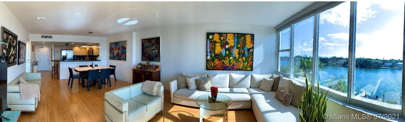 Gorgeous 2BD/2BA corner unit Condo on Millionaire Row – Miami Beach w/ breathtaking water views. PET