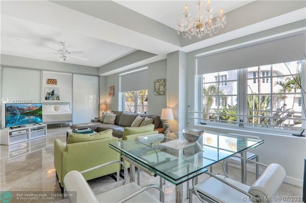 LEGAL DAILY SHORT TERM RENTAL!  Right on Ocean Drive in the world famous Art Deco District Rare 2