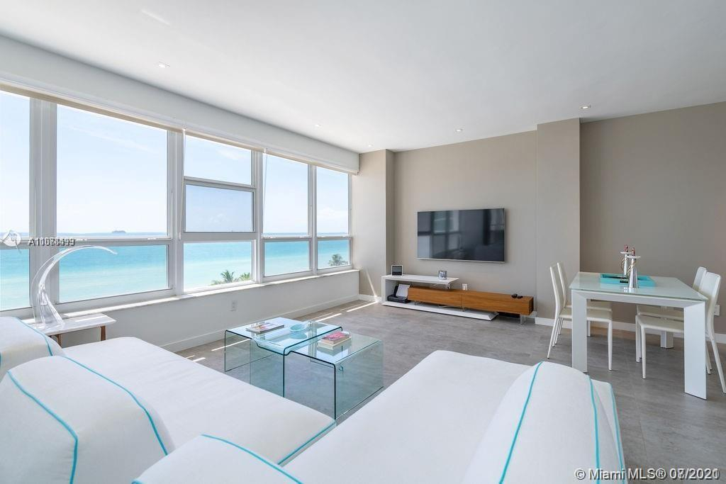 Tenant Occupied until 9/28/2021. Beautifully renovated Direct Ocean view studio at The Executive! Th