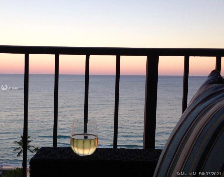 ABSOLUTELY STUNNING DIRECT OCEANFRONT VIEW FROM THIS LOVELY TWO BEDROOM, TWO BATH CONDO. OPEN FLOORP