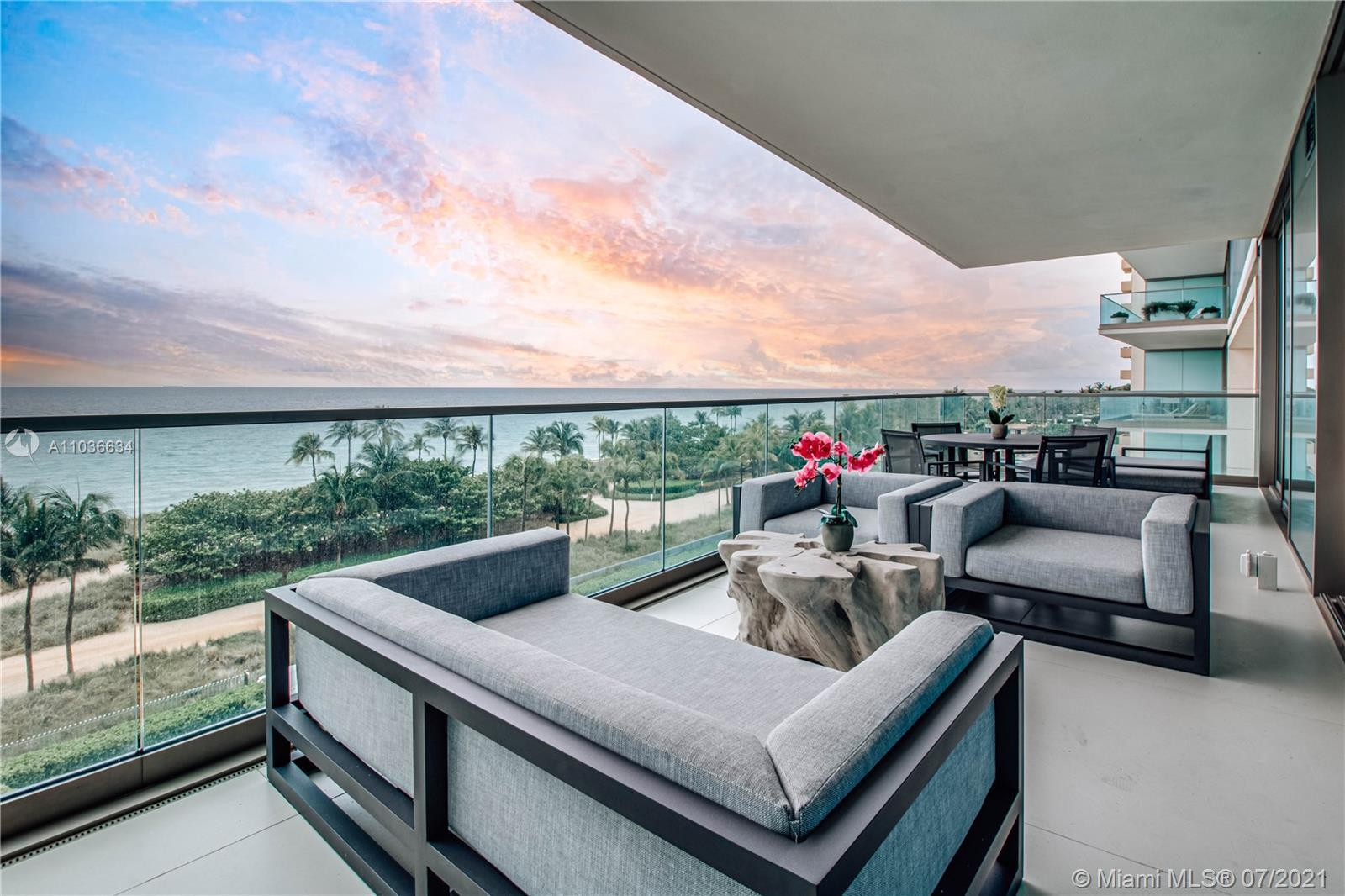 Live Limitlessly in this stylish oceanfront unit at Oceana Bal Harbour North Tower - a spacious inte
