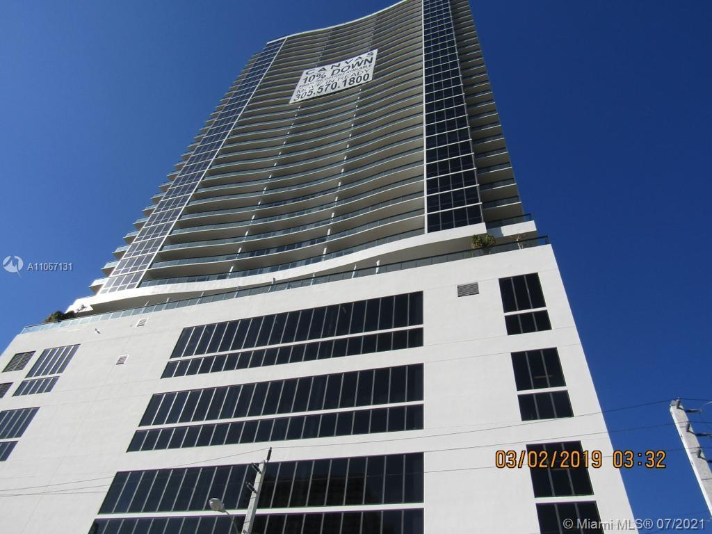 BRAND NEW UNIT IN THE ART DISTRICT. BEAUTIFUL 2 BEDS/2 BATHS. BEAUTIFUL VIEW OF BISCAYNE BAY, DOWNTO