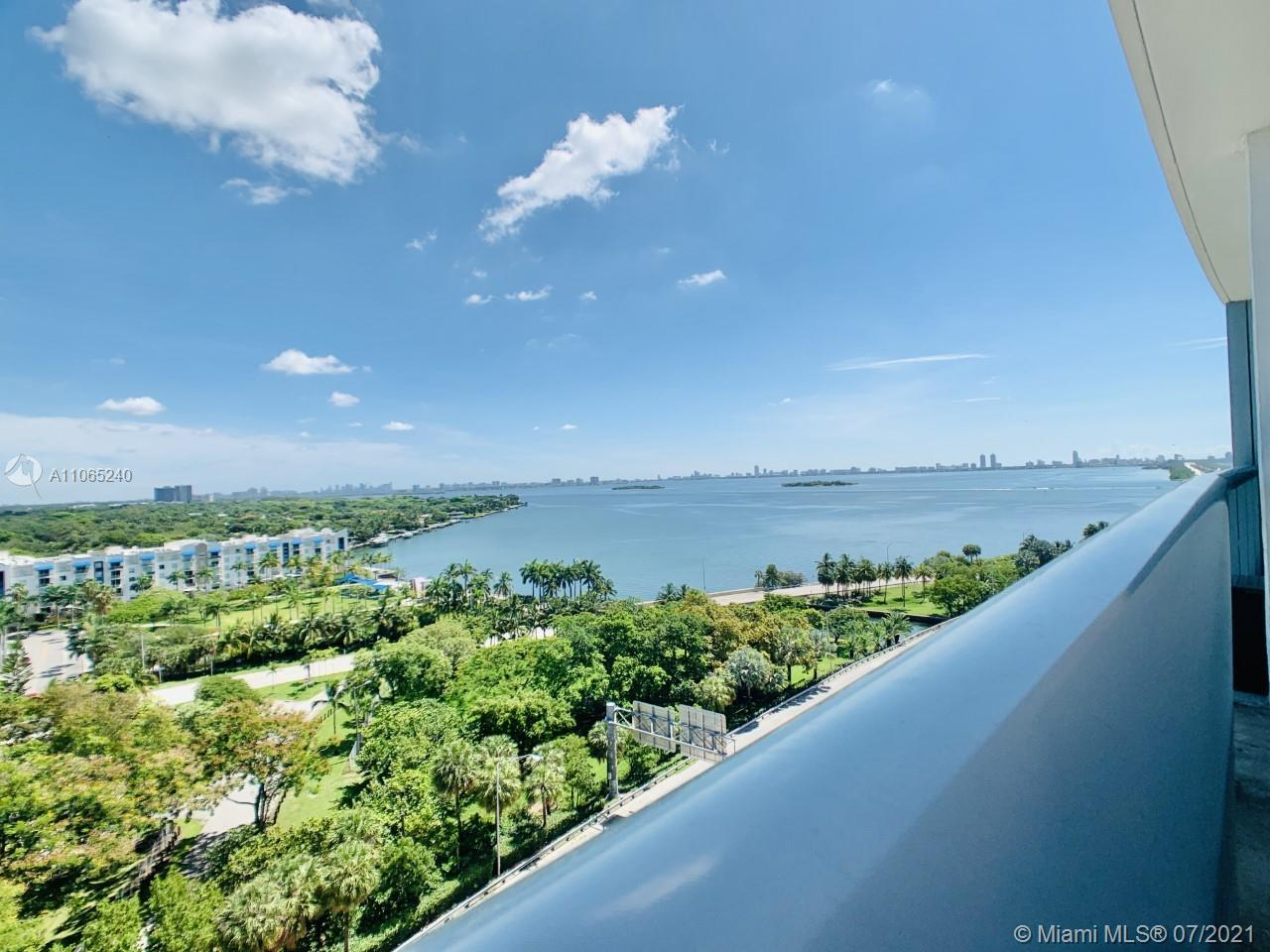 Direct water bay view from this unit 2 bedrooms/ 2.5 baths with an amazing balcony. This views will