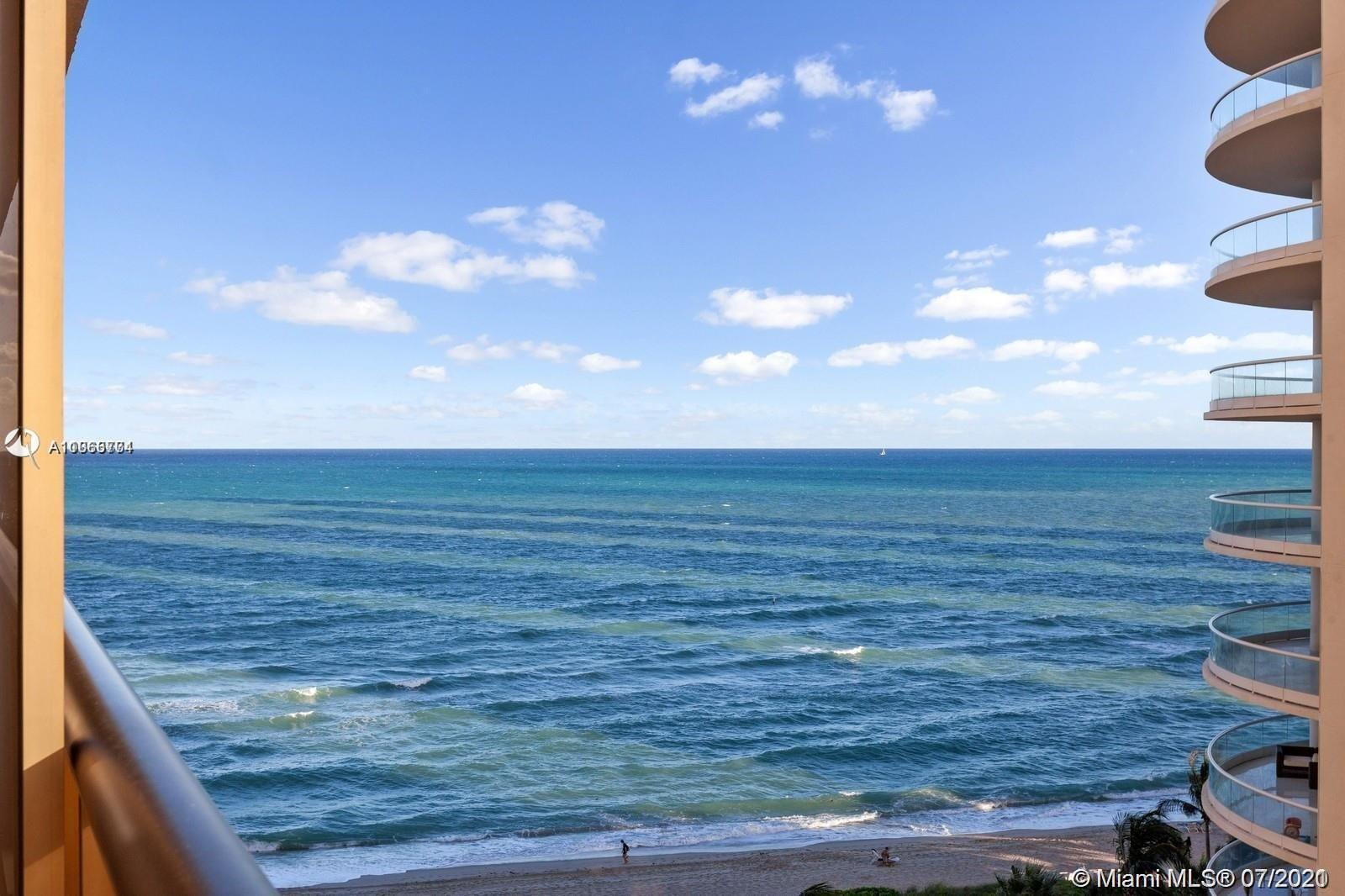 Enjoy Oceanfront living! Boutique building located RIGHT on the ocean >>> CORNER   2 bedrooms/ 2.5 b