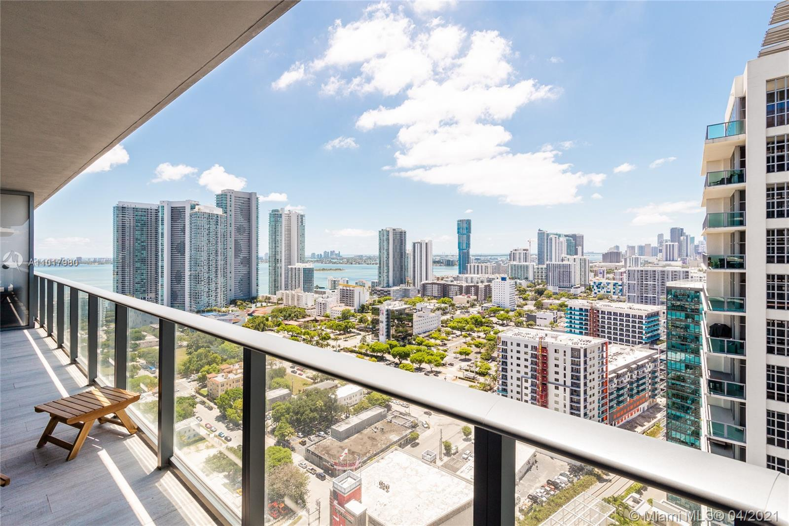 New luxury apartment for sale at Hyde Midtown Residences with amazing city and bay views. This apart