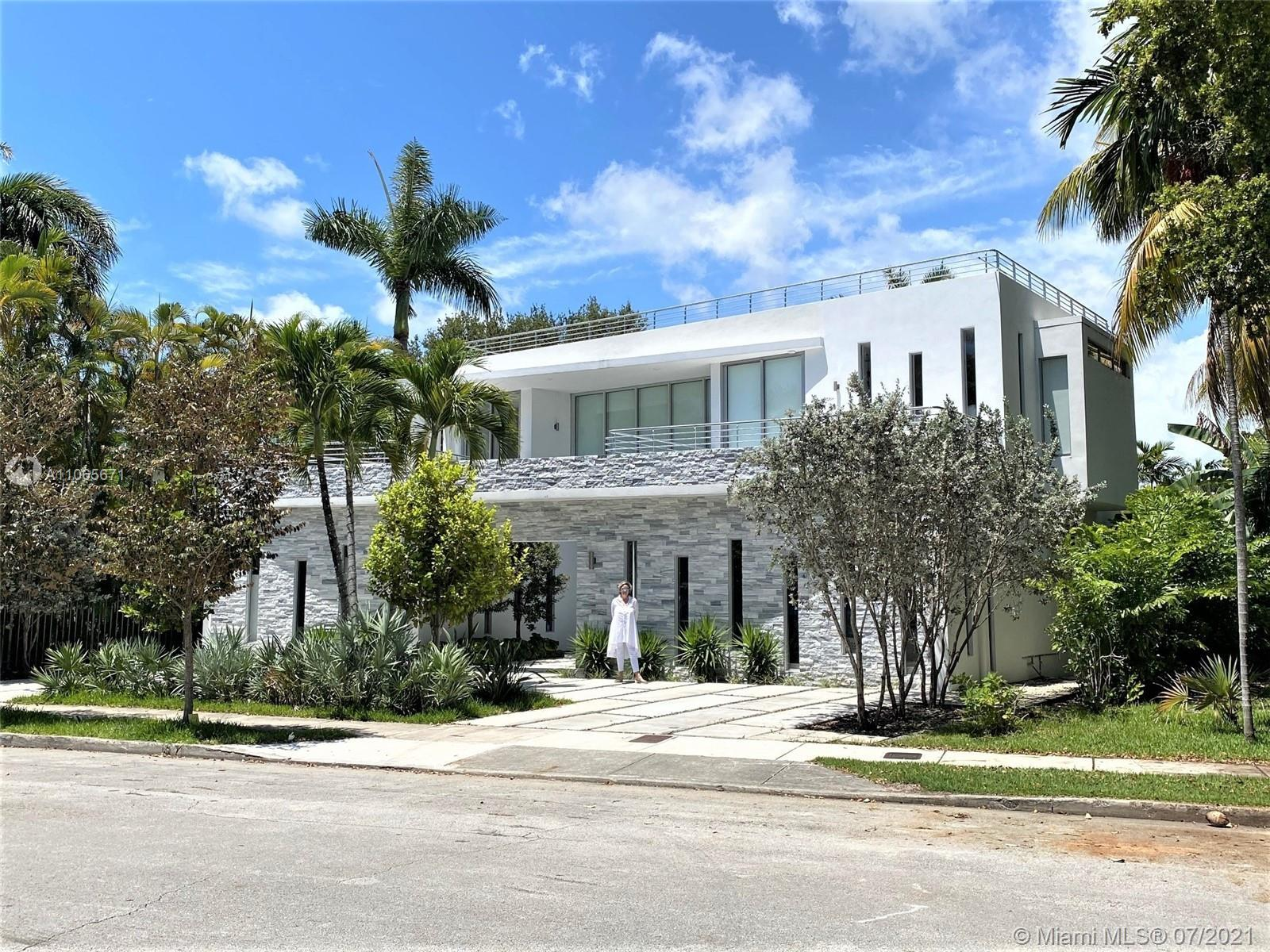 NEW ADDITION for a total of 4700 SQFT. This 2-story modern open-plan Bayview Pool Villa of 5 beds/5