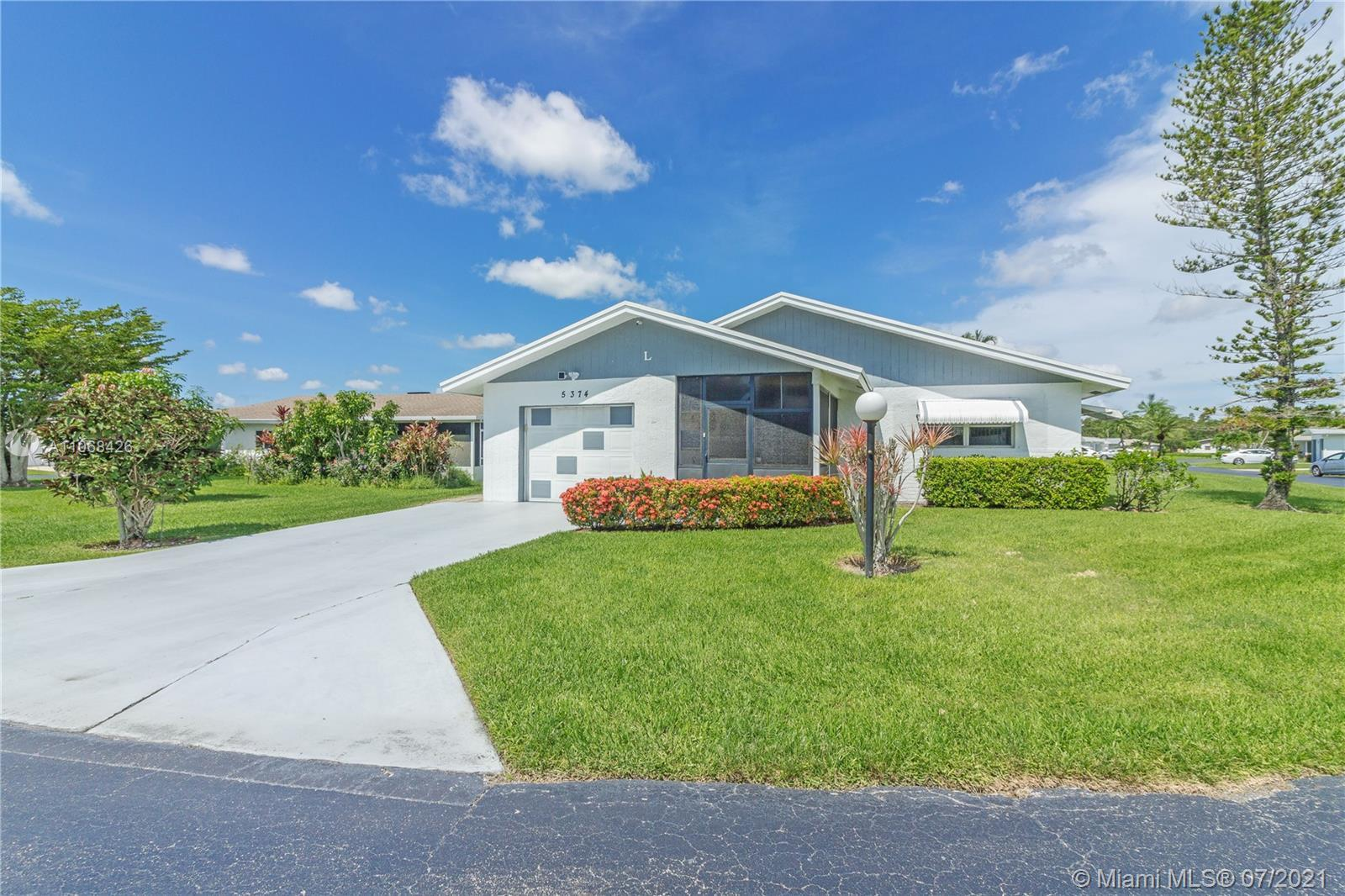 Beautiful Single Family home in the gated community of Cypress Lakes. Property sits on a corner lot
