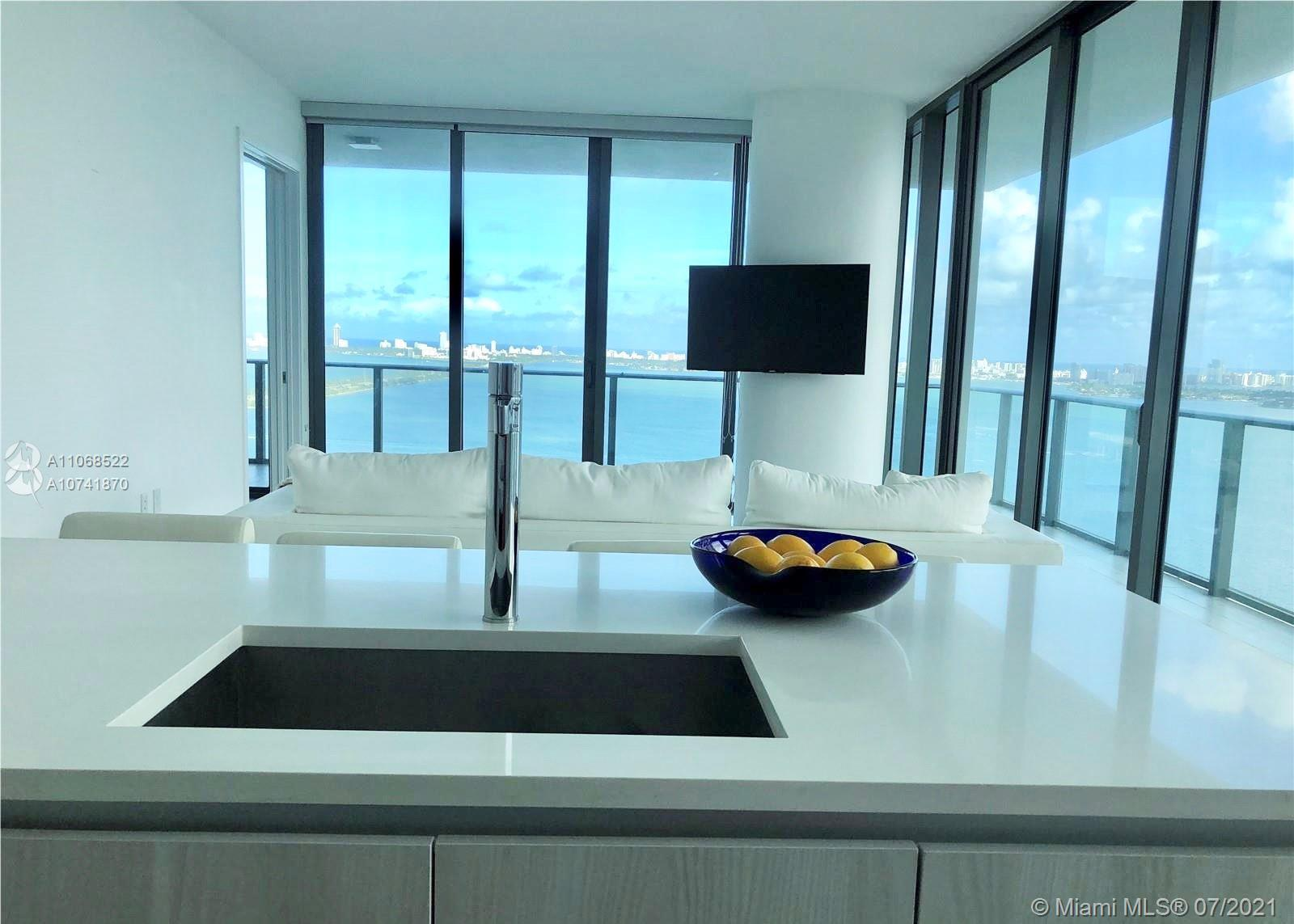Enjoy Breathtaking Bay and Water views from the 30th floor of this stunning home in the sky with Pri