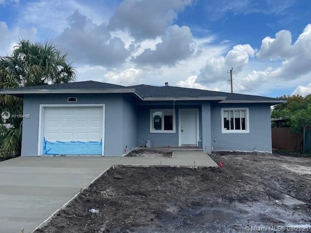 Ready for a New Owner! Amazing Brand New Construction Single Family Home! Consist of 3 Bedrooms 2  B
